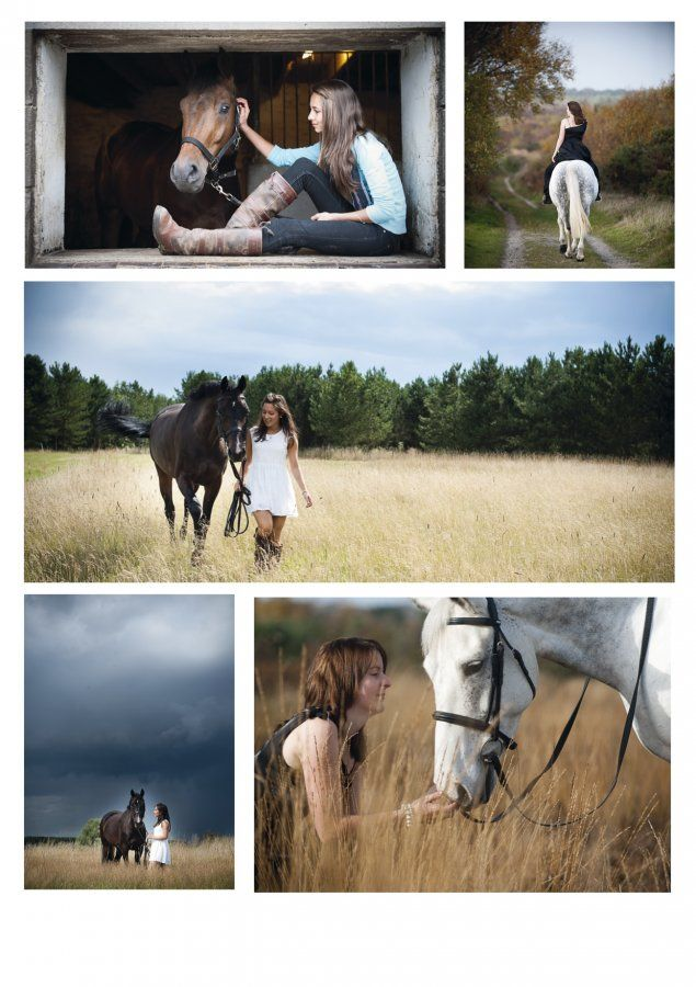 For senior pictures maybe me and Cowboy?