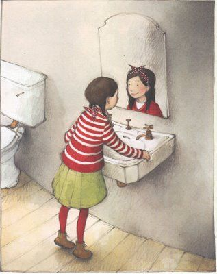Freya Blackwood. Illustration for Her Mother's Face by Roddy Doyle.  http://www.booksillustrated.com.au/bi_books_indiv.php?id=32