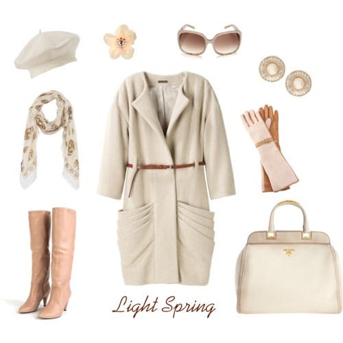 The Light Spring winter wardrobe