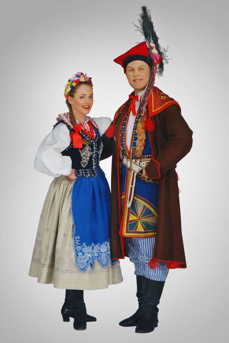 Strój krakowiaków wschodnich-costume of eastern cracovians