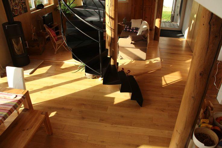 escalier tole pliée circulaire