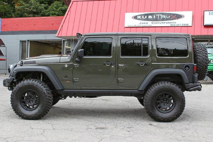 Custom 2015 Jeep Wrangler Rubicon Unlimited Tank HEMI Conversion