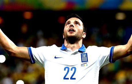 Ανδρέας Σάμαρης: Σεμνός, aggressive και ποδοσφαιρικός εργάτης - Παγκόσμιο Κύπελλο Ποδοσφαίρου 2014 - Μundial 2014 | Contra