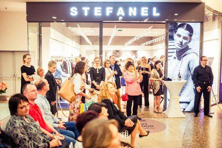 Openning party butiku Stefanel v OC Chodov