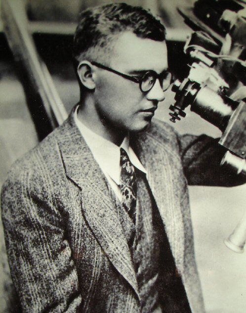 Clyde Tombaugh discover Pluto on February 18. 1930. It had been there for years. Recently it became a dwarf planet.