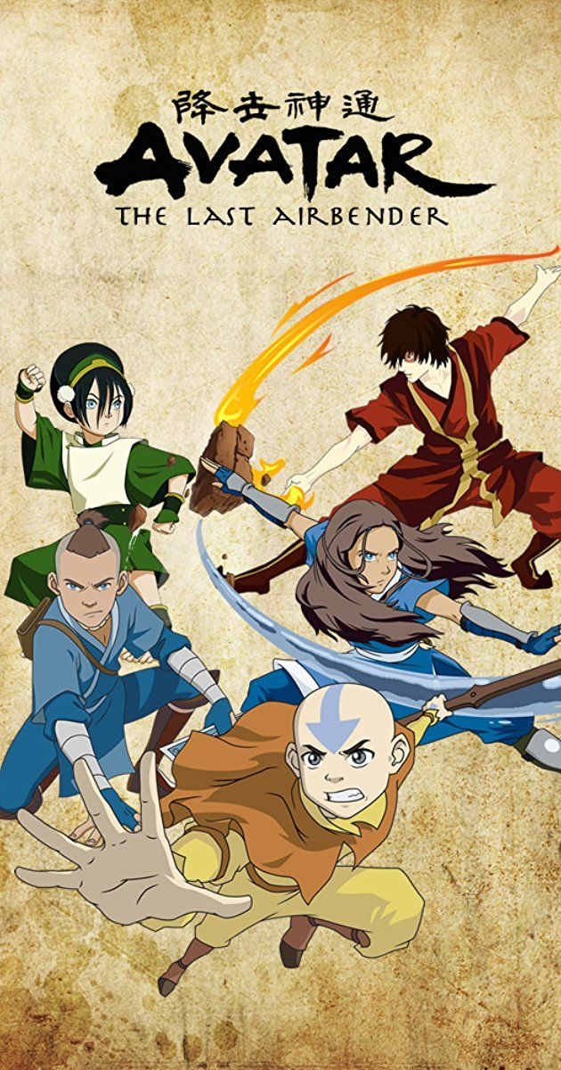 Created by Michael Dante DiMartino, Bryan Konietzko.  With Dee Bradley Baker, Zach Tyler, Mae Whitman, Jack De Sena. In a war-torn world of elemental magic, a young boy reawakens to undertake a dangerous mystic quest to fulfill his destiny as the Avatar, and bring peace to the world.