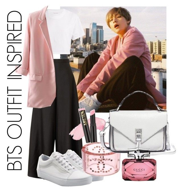 Kpop Idol Inspiration By Akitsum On Polyvore Featuring Hanes The Row Vans Chanel Rebecca Minkoff Gucci Bts Clothes Design Polyvore Outfit Accessories