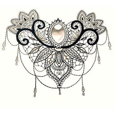 Best 25+ Lace Tattoo Ideas On Pinterest | Thigh Piece, Tattoo