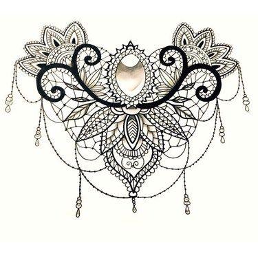 0a57d310cb375c80107b47b63342325e lace mandala lace tattoo design