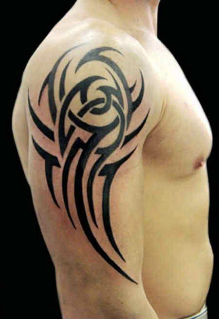 tribal tattoo 58 world 39 s largest tattoos ideas designs pinterest. Black Bedroom Furniture Sets. Home Design Ideas
