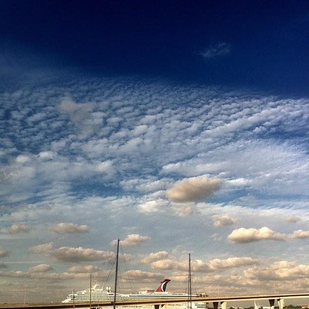 """Fall sky/秋の空""  @gonzou_sakuzou- #webstagram"