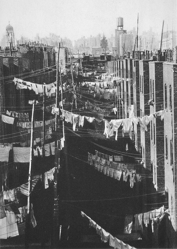 Laundry, New York City,c.1934 by Marjorie Content, via Vintage Everyday