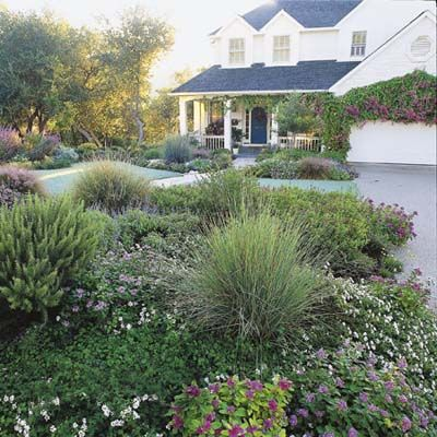 Less lawn can result in outdoor living spaces that demand less of your time and energy—not to mention less water, gas, and electricity.