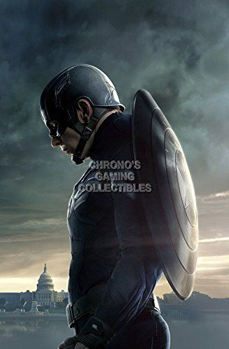 CGC Huge Poster  Marvel Captain America the Winter Soldier Texless Movie Poster  MCA013 16 x 24 41cm x 61cm >>> See this great product.