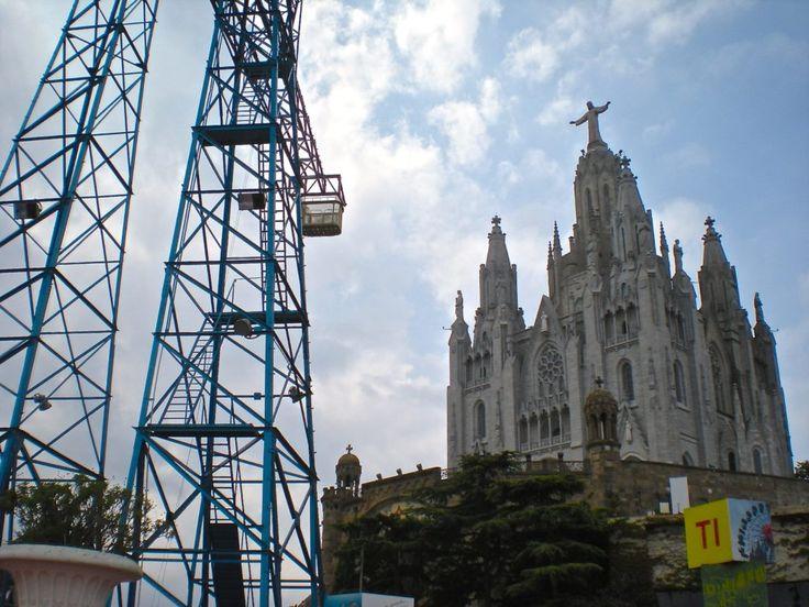 cosa vedere a Barcellona_Sagrat Cor e Tibidabo