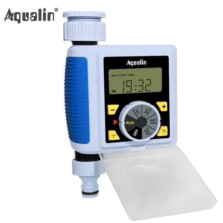 7 best water timer rain sensor images on pinterest water timer get new big diallarge screen lcd automatic electronic water timer solenoid valve garden irrigation controller system sciox Images