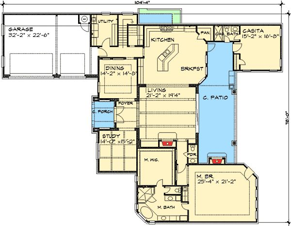 Floor 1 Floorplans Pinterest