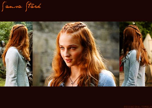 Hairstyle Movie : nice GoT half-up braided hairstyle hair Pinterest