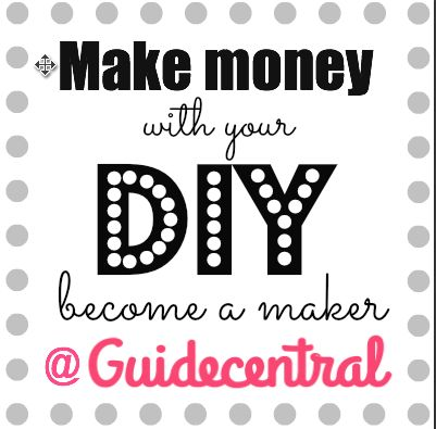 make money with your DIY become a maker at Guidecentral