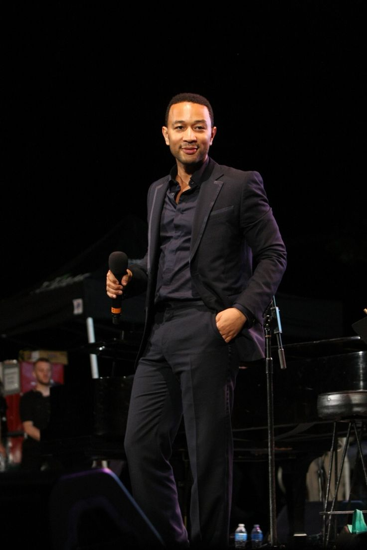 John Legend-how can you say there isn't a god when this man exists?