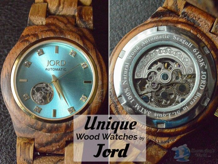 Enter to win a $25 gift card for the purchase of your own JORD Wood Watch!