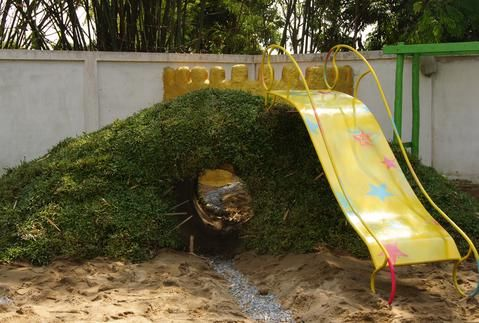 Cool Hill and Slide. Neat article about how playgrounds can stimulate creativity.