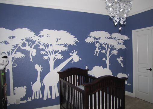 paint by number wall murals baby strycker pinterest. Black Bedroom Furniture Sets. Home Design Ideas