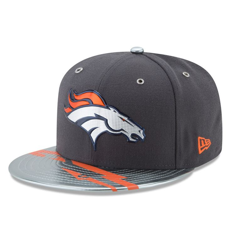 Denver Broncos New Era 2017 NFL Draft Spotlight 59FIFTY Fitted Hat - Graphite
