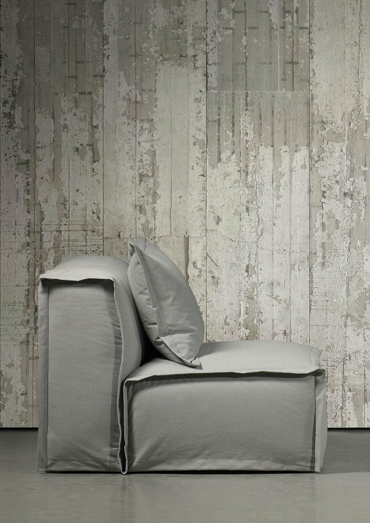 Concrete Wallpaper by Piet Boon CON-06 900 x 48.7 cm 1 Roll Non-Woven Back Wallpaper, Grey: Amazon.co.uk: Kitchen & Home