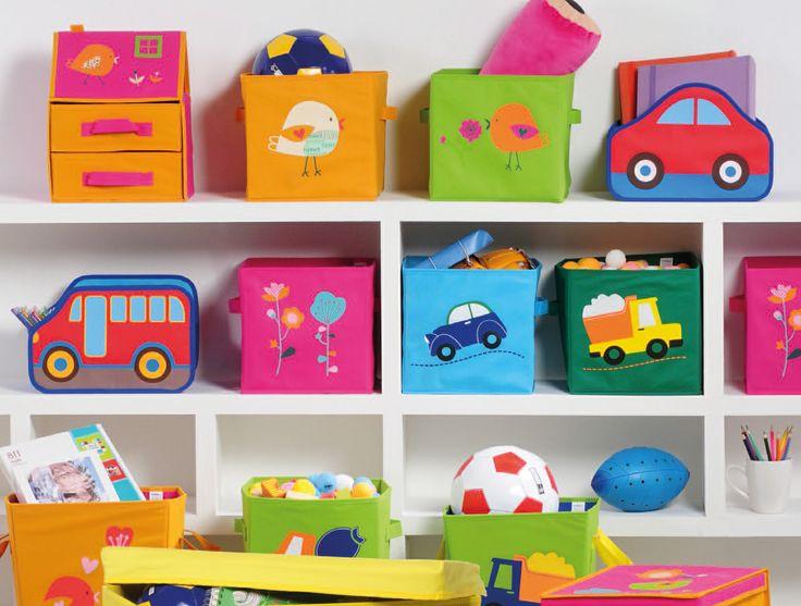 Mantén el orden con estos baúles para niños.  #Muebles2014 #Orden #Niños #Easy #EasyTienda #Colors #Kids #Organizar  http://www.easy.cl/organizacion-infantil