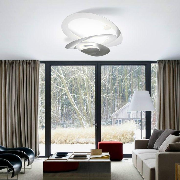 Artemide Pirce Mini Led crea un'ambiente suggestivo e moderno.