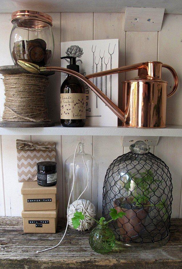 Haws Copper Indoor Watering Can