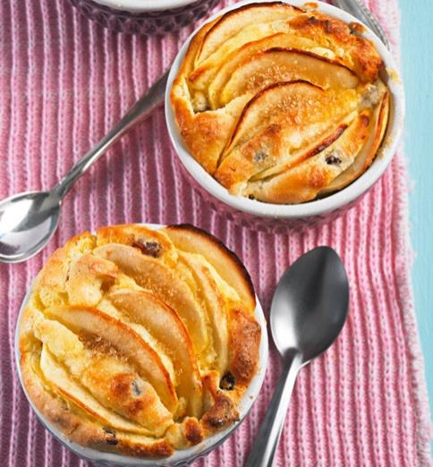 Apfel-Quark-Auflauf - Süße Rezepte mit Grieß - 18 - [ESSEN & TRINKEN]