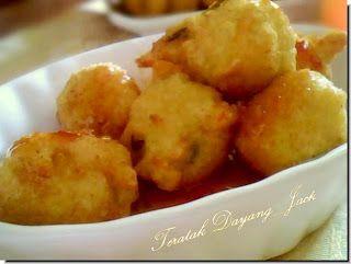 DapurKu SaYang: Cucur Nasi Ikan Bilis