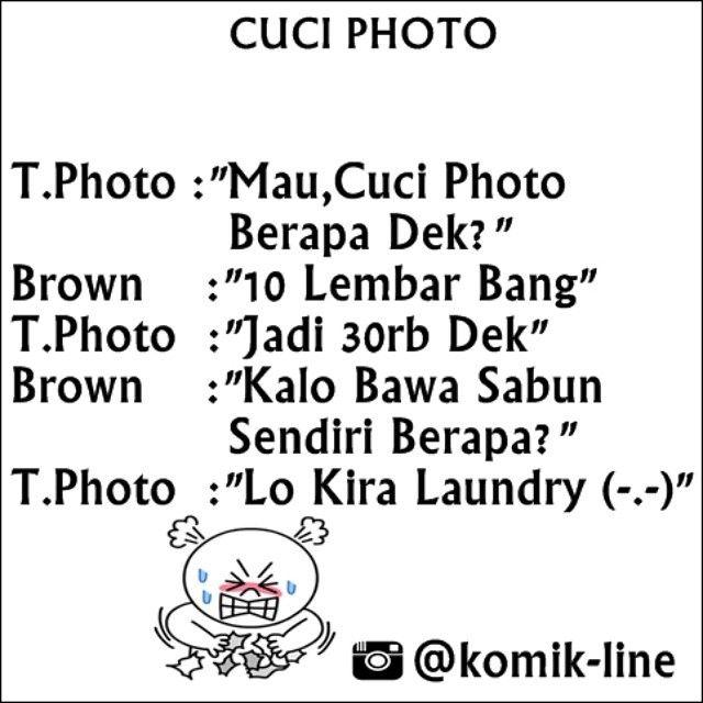 "@komik_line's photo: ""Salah gaul :)) Asal bisa ketawa aja dah  #komik_line"""