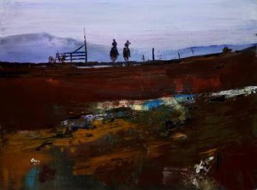"""Saatchi Art Artist OSCAR ALVAREZ; Painting, """"Vaqueros 15"""" #art"""