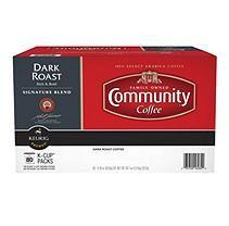 Community Coffee, Dark Roast (80 K-Cups)