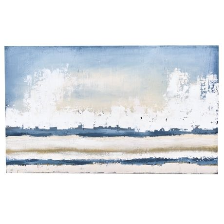 Autumn Shore Canvas 204x122cm | Freedom Furniture and Homewares