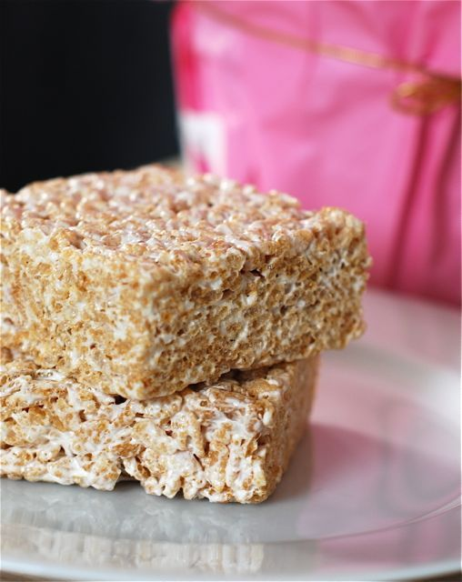 A new and delicious way to make Rice krispie treats is by using coconut oil.