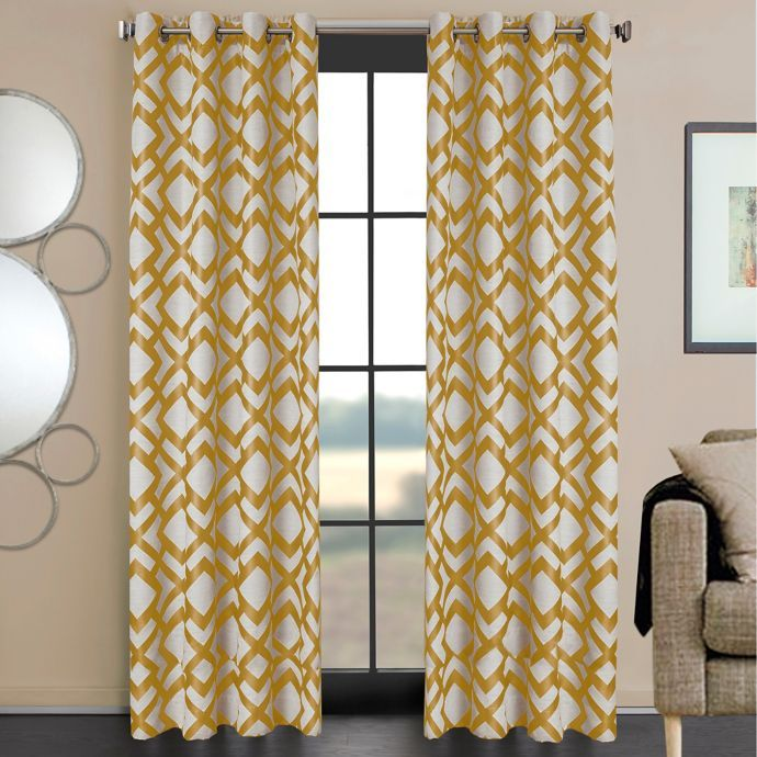 Ryder Grommet Window Curtain Panel Panel Curtains Curtains Window Curtains