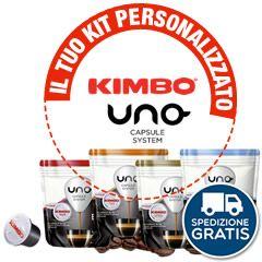 192 CAFFÉ UNO CAPSULE SYSTEM KIMBO A SCELTA