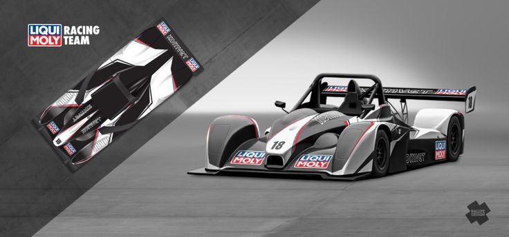 Liqui Moly Racing Team - Marek Rybníček (Norma) - design and wrap for season 2014.