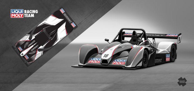 Liqui Moly Racing Team - Marek Rybníček (Norma) - design and wrap for season 2014.