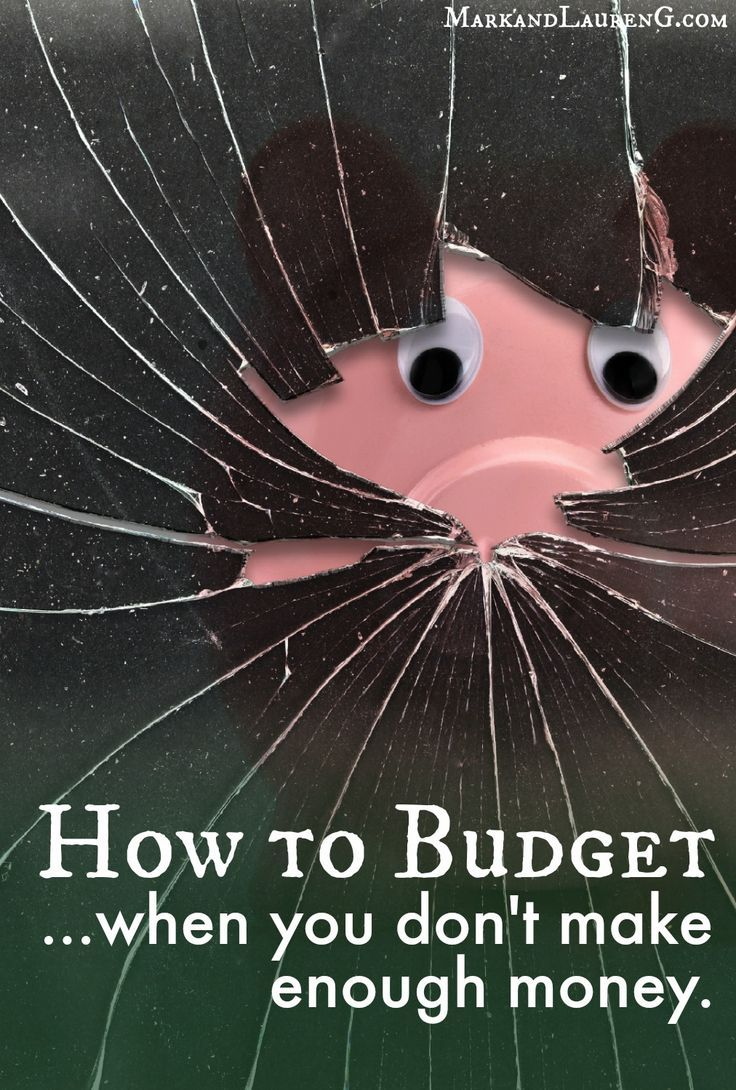 How to Budget when you don't make enough money - this is something that we have…