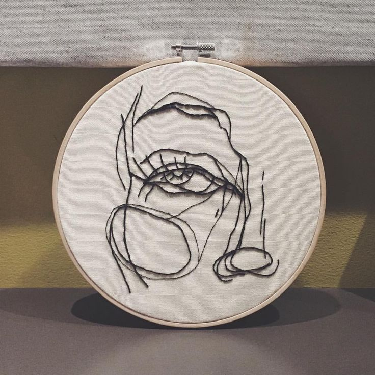 """262 Likes, 7 Comments - @stitchmadegoods on Instagram: """"➰ little hoop gift! ➰"""""""