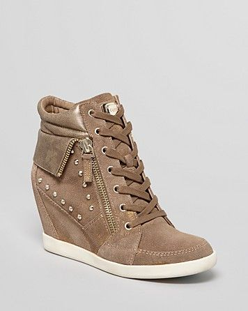 GUESS Wedge Sneakers - Hitzo | Bloomingdale's