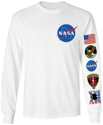 431b3528 Men's Long-Sleeve NASA Graphic T-Shirt | macys.com | Things I like ...