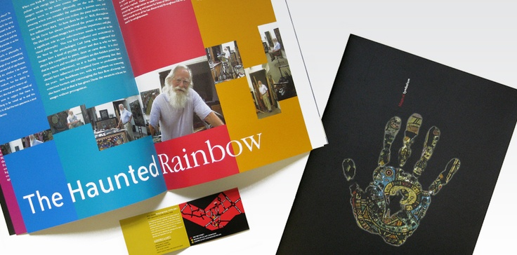 Totality GCS were proud sponsors of 'Magic Symbolism', an exhibition of new paintings by one of the countries most renowned and revered artists, Alan Davie.  We designed and produced all promotional and display materials for the event including this brochure commemorating the event.