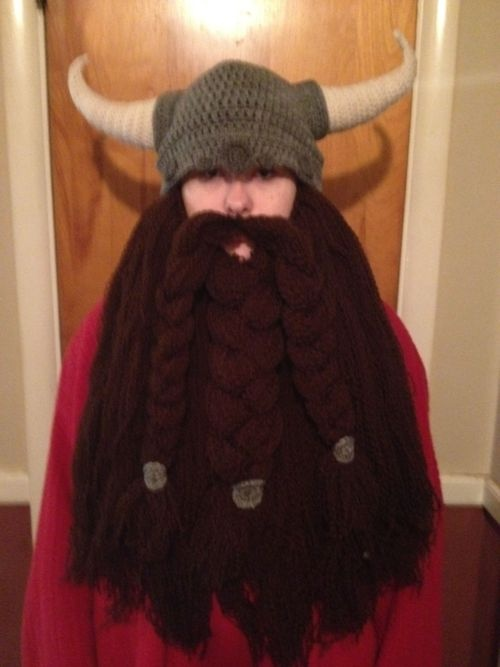 viking helm without nose guard Crochet Viking Dwarf ...