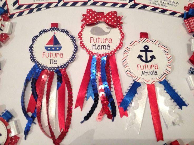 recuerdos para baby shower de marinero